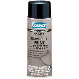 Sprayon SP615 Heavy Duty Paint Remover, 15 oz. Aerosol Can - SC0615000 - Pkg Qty 12