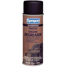 Sprayon SP702 Engine Degreaser, 12 oz. Aerosol Can - s00702000 - Pkg Qty 12