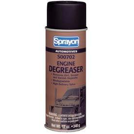 Sprayon SP702 Engine Degreaser, 12 oz. Aerosol Can - s00702000 - Pkg Qty 12
