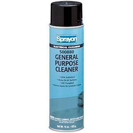 Sprayon® General Purpose Cleaner, 19 oz. Aerosol Spray - S00880 - Pkg Qty 12