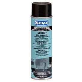 Sprayon CD887 Coil & Fin Cleaner, 18 oz. Aerosol Can - SC0887OO7 - Pkg Qty 12