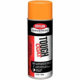 Krylon Industrial Tough Coat Acrylic Enamel Osha Orange (#60 Equip. Orange) - A01210007 - Pkg Qty 12