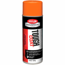 Krylon Industrial Tough Coat Acrylic Enamel Joy Orange - A01213007 - Pkg Qty 12