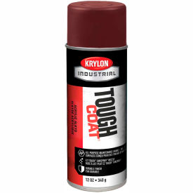 Krylon Industrial Tough Coat Acrylic Enamel Cordova Brown - A01285007 - Pkg Qty 12