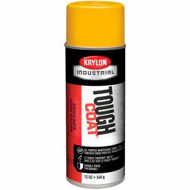 Krylon Industrial Tough Coat Acrylic Enamel Osha Yellow - A01310007 - Pkg Qty 12
