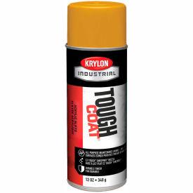 Krylon Industrial Tough Coat Acrylic Enamel New Cat Yellow - A01319007 - Pkg Qty 12