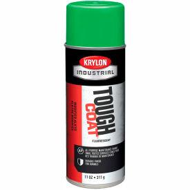 Krylon Industrial Tough Coat Fluorescent Electric Green - A01815007 - Pkg Qty 12