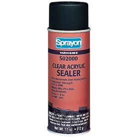 Krylon S02000 El2000 Clear Electrical Lacquer Sealer 11 Oz.