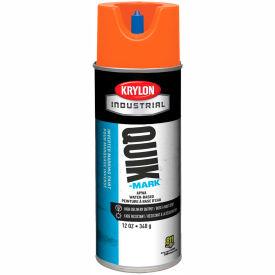 Krylon Industrial Quik-Mark Wb Inverted Mkg Paint Apwa Brilliant Orange - A03403004 - Pkg Qty 12