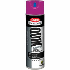 Krylon Industrial Quik-Mark Sb Inverted Marking Paint Fluorescent Purple - A03615007 - Pkg Qty 12