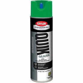 Krylon Industrial Quik-Mark Sb Inverted Marking Paint Apwa Green - A03631007 - Pkg Qty 12
