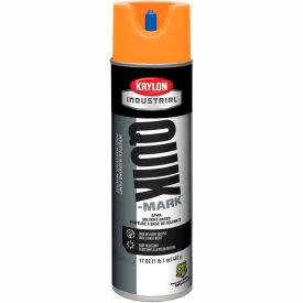Krylon Industrial Quik-Mark Sb Inverted Marking Paint Apwa Bright Orange - A03731007 - Pkg Qty 12