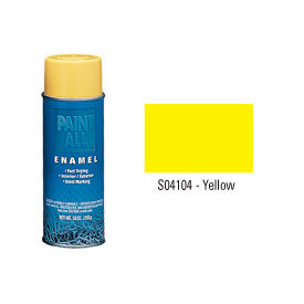 Krylon Industrial Paint-All Enamel Paint Yellow