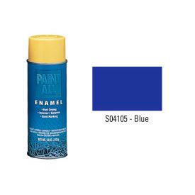 Krylon Industrial Paint-All Enamel Paint Blue - S04105 - Pkg Qty 12