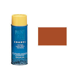 Krylon Industrial Paint-All Enamel Paint Brown - S04108 - Pkg Qty 12