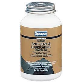 Sprayon LU620 Anti-Seize Compound, 8 oz. Brush Top Canister - s62008000 - Pkg Qty 12