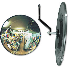 """See All® 160-Degree Convex Security Mirror, 12"""" Diameter"""