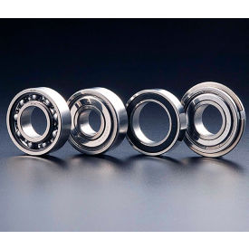 SMT SS6004ZZ Deep Groove Ball Bearing, Stainless Steel, Double Shielded, OD 42mm, Bore 20mm,Metric by