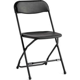 Samsonite 2200 Series Light Weight Injection Molded Stacking Chair - Black, Pk/10