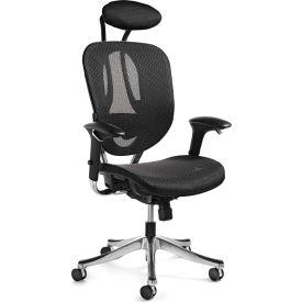 Zurich Mesh Office Chair - Black/Black