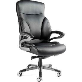 Santa Barbara Executive Chair, Bonded Leather - Black
