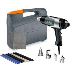 Steinel HL 2020 E Professional Heat Gun w/ Plastic Welding Kit by