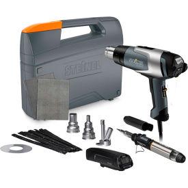 Steinel HG 2320 E Professional Heat Gun w/ Deluxe Plastic Welding Kit w/Temp Scanner by