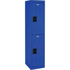 """Sandusky Welded Steel Color Lockers LF2B151866-06 - 15""""W x 18""""D x 66""""H Blue"""