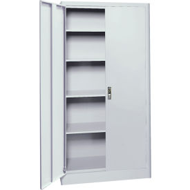 Sandusky Elite Radius Edge Series Storage Cabinet ER4P361872 - 36x18x72, Gray