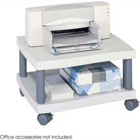 Safco® 1861GR Wave Under Desk Printer Stand