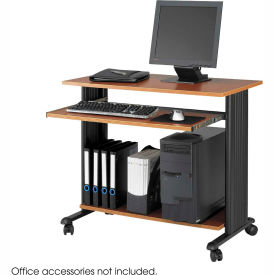 """Safco® 1921CY Muv™ 35"""" Fixed Height Workstation - Cherry"""