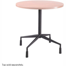 """RSVP™ Fixed Base 28"""" Dia. With 4 Levelers Black (Top Sold Separately)"""