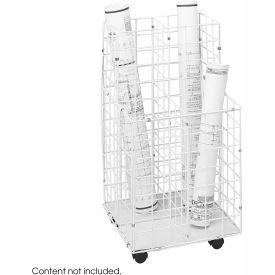 Wire Roll File - 4 Compartment