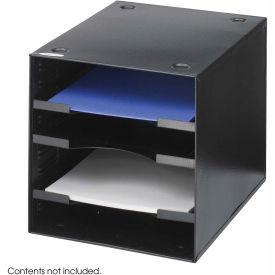 Steel Desktop Organizer - 4 Compartment
