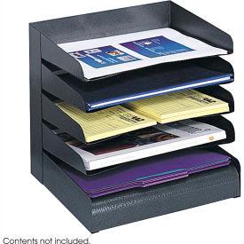 Steel Desk Tray Sorter 5 Shelf