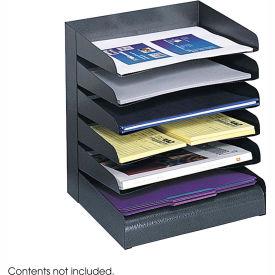Steel Desk Tray Sorter 6 Shelf