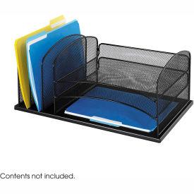 Onyx™ 3 Horizontal/3 Upright Sections Desktop Organizer