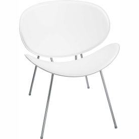 Sy Guest Chair, White