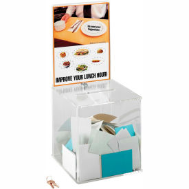 Acrylic Collection Box - Large