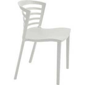 Entourage Stack Chair White (Priced 4 per Carton) by