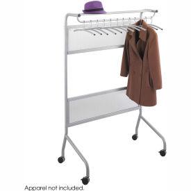 Safco® Impromptu Garment Rack - Silver