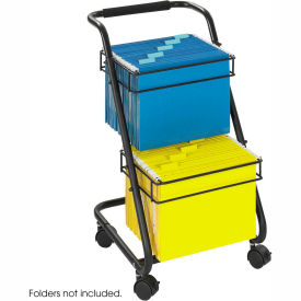 Safco® 5223 Two-Tier Office Filing Cart