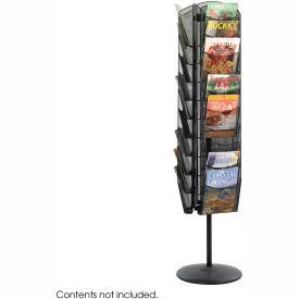 Onyx Rotating Mesh Magazine Stand