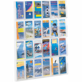 Clear 24 Pamphlet Display