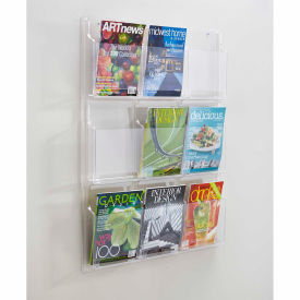 Clear 9 Magazine Display