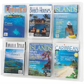 Clear 6 Magazine Display