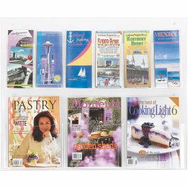 See-Thru 3 Magazine and 6 Pamphlet Display