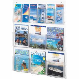 See-Thru 6 Magazine and 6 Pamphlet Display