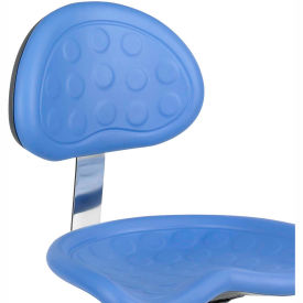 Safco Polyurethane Stool Back - Blue