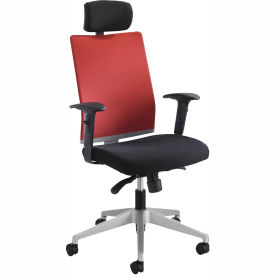 Tez™ Manager Chair with Headrest, Tabasco